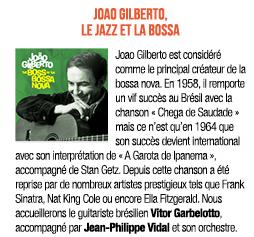 jazz et bossa pour le 7 avril 20 à Châteaubriant